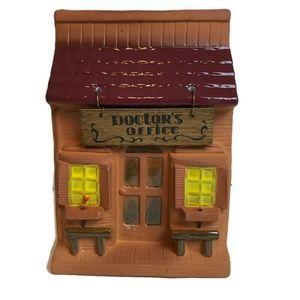 Enesco Doctors Office Village Figurine